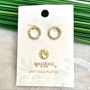 Spartina 449 eternity stud earrings